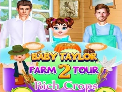 Baby Taylor Farm Tour 2 Rich Crops