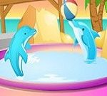 Dolphin Park Decoration