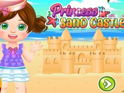 Princess Sand Castle